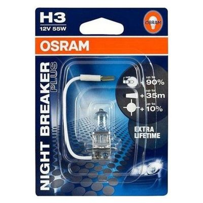 Osram autolamp H3 Night Breaker Plus