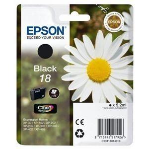 Foto van EPSON 18 INKT BLACK