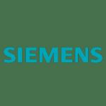 Het logo van Siemens</p>
