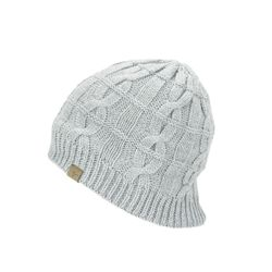 Waterproof Cold Weather Cable Knit Beanie