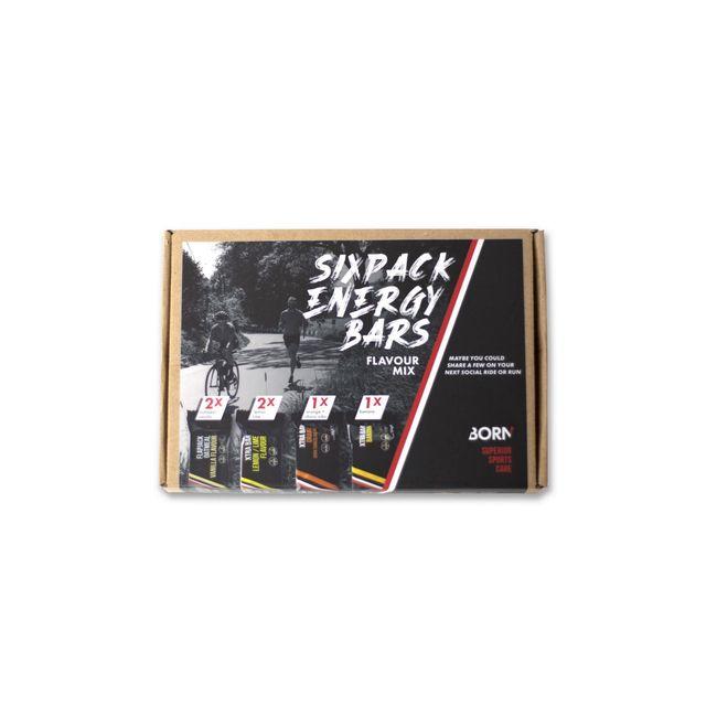 Afbeelding van Sixpack Energy Bars – Flavour MIX