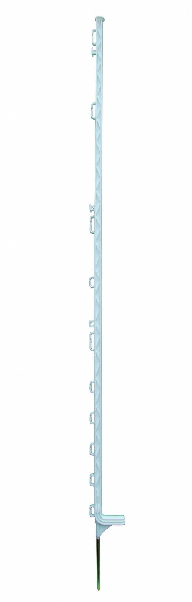 Horizont kunststof weidepaal Extra wit 169cm 10 stuks
