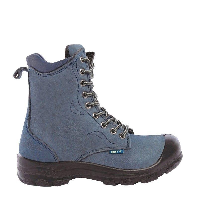 Werkschoenen voor Dames Lady Line Enna blauw