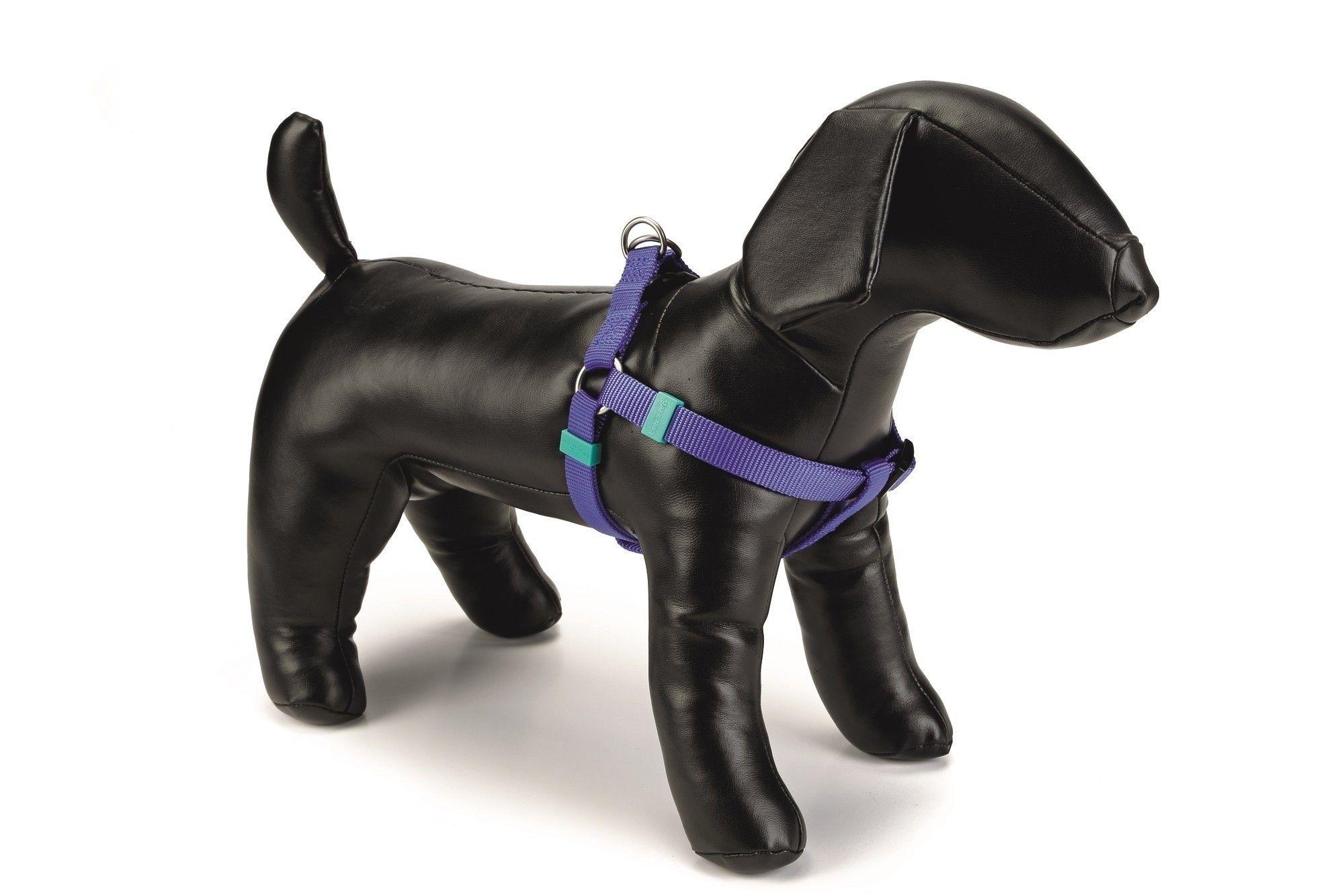 Honden borsttuig Uni nylon Beeztees blauw