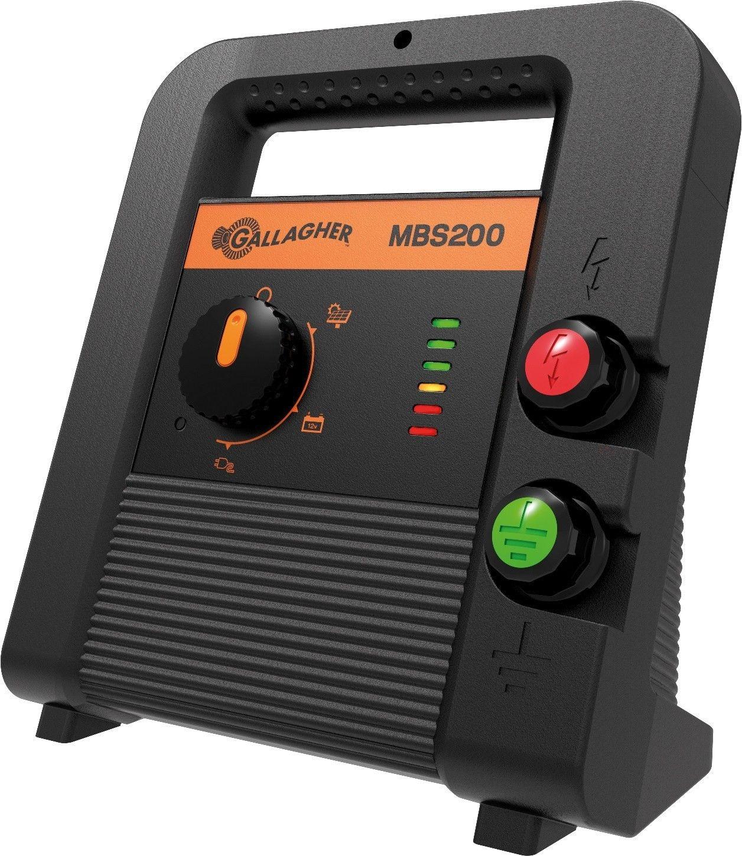 Gallagher schrikdraadapparaat MBS200 (230V/12V/Solar)