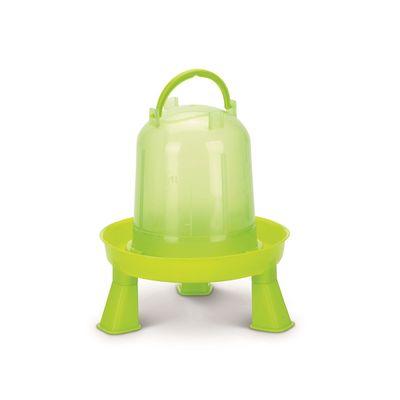 Foto van Kippen drinktoren op pootjes 1.5ltr groen