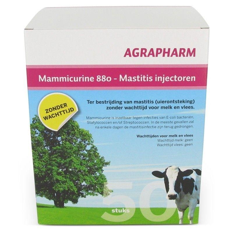 Mammicurine-880 mastitis injectoren 50 stuks