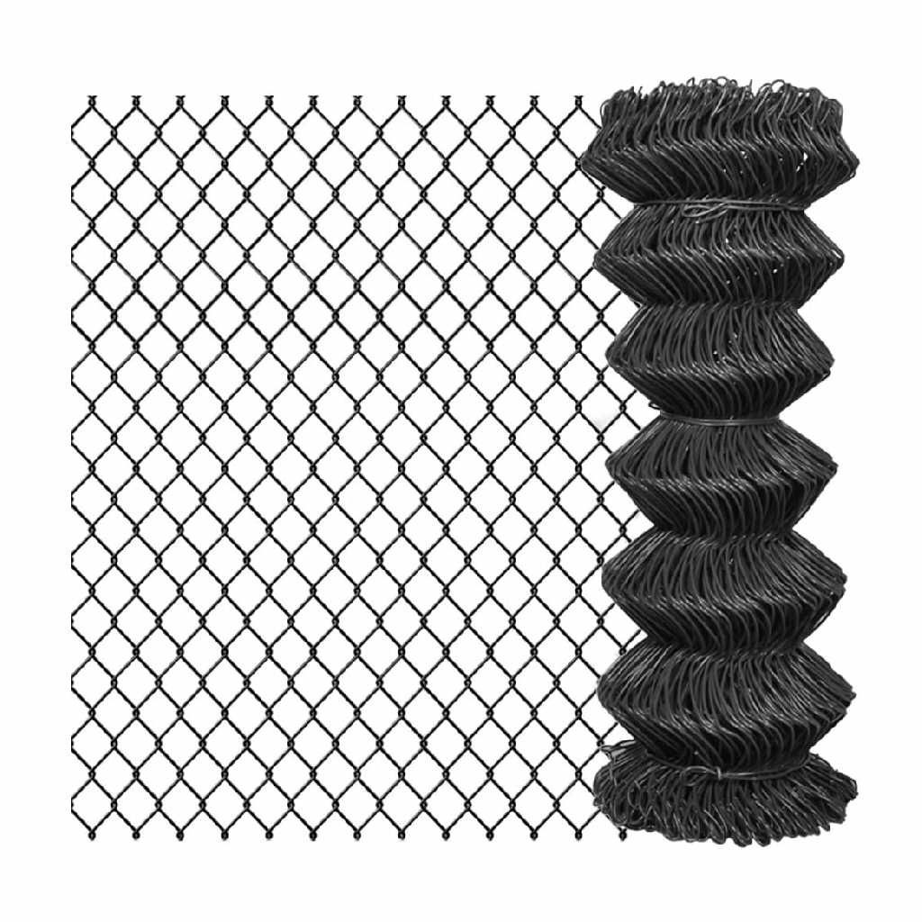 Harmonicagaas zwart 50/2.7 - 180cm x 25mtr