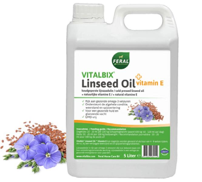Vitalbix Linseed Oil + Vitamin E 5ltr