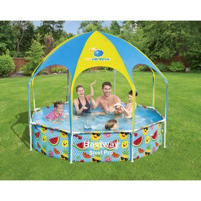 Foto van Zwembad Bestway my first frame pool splash-in-shade play rond 244cm