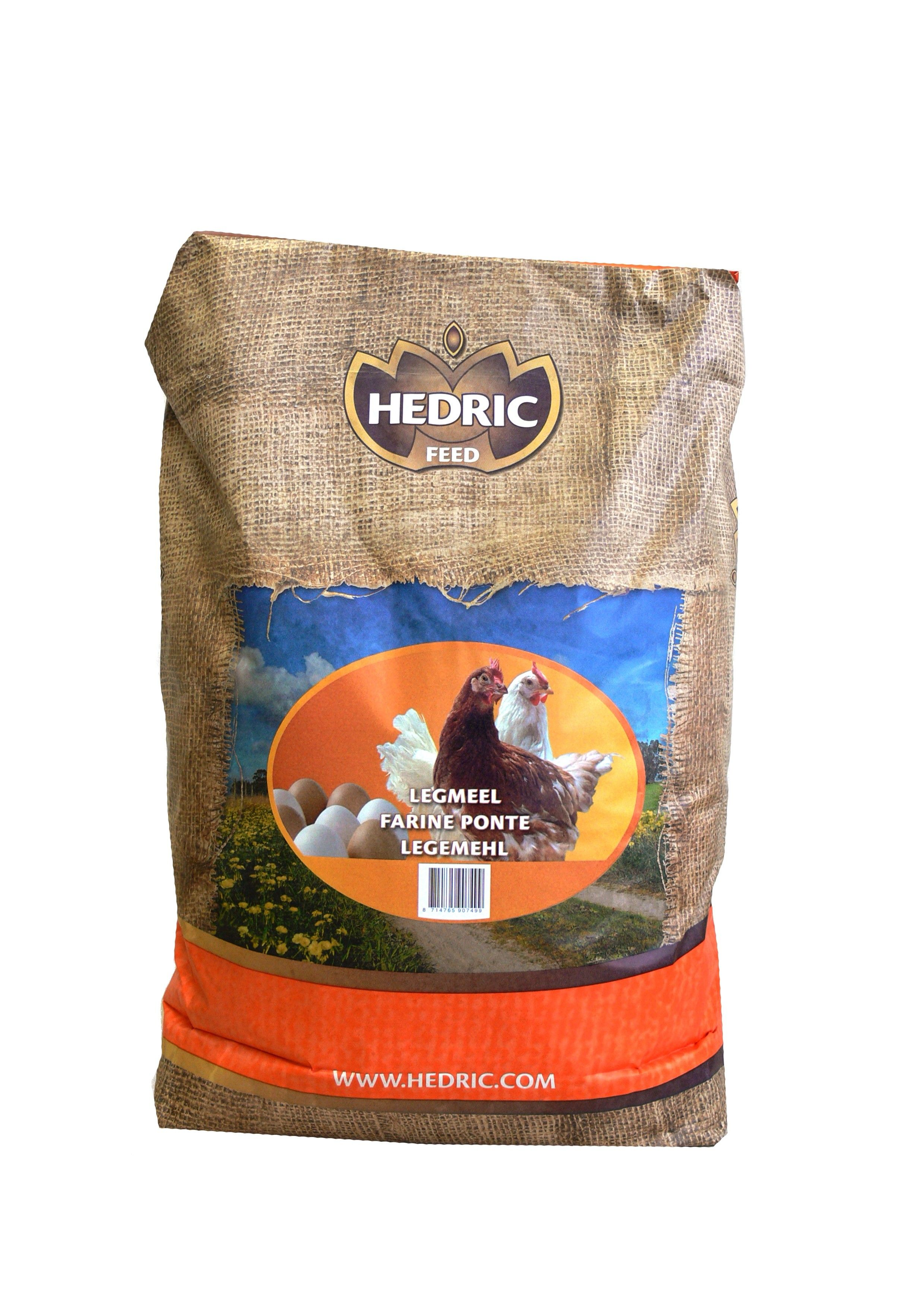 Legmeel Rood Hedric 20kg