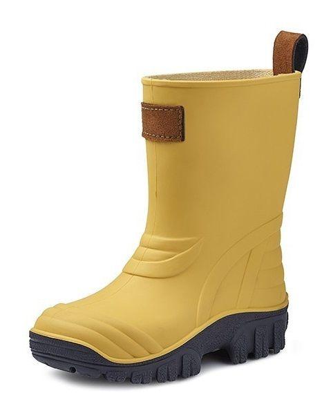 Kinderlaars Gevavi Boots sebs geel/zwart
