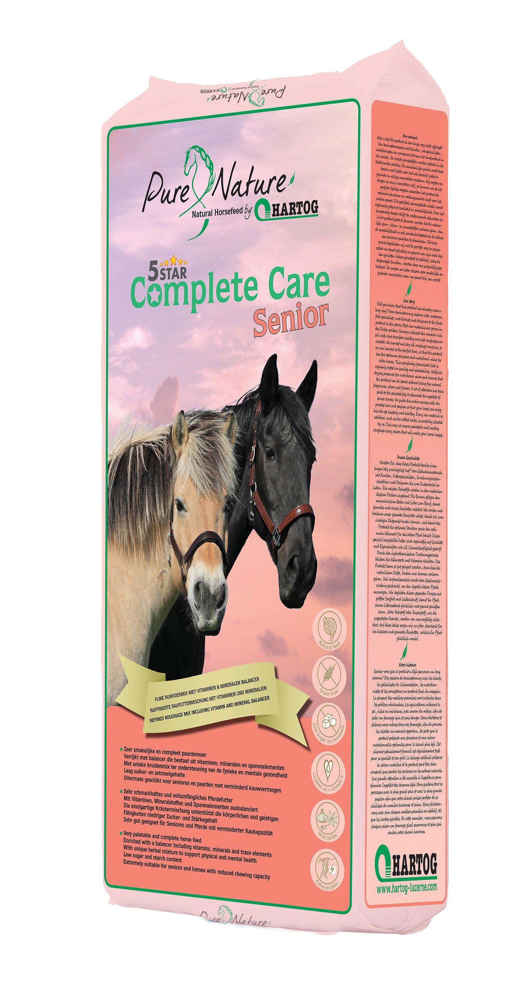 Hartog Complete Care senior ruwvoermix 15kg