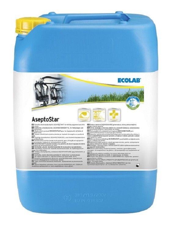 Asepto Star reinigings-en desinfectiemiddel 24kg