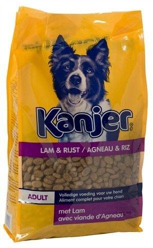 Kanjer Lam&Rijst hondenvoer 15kg