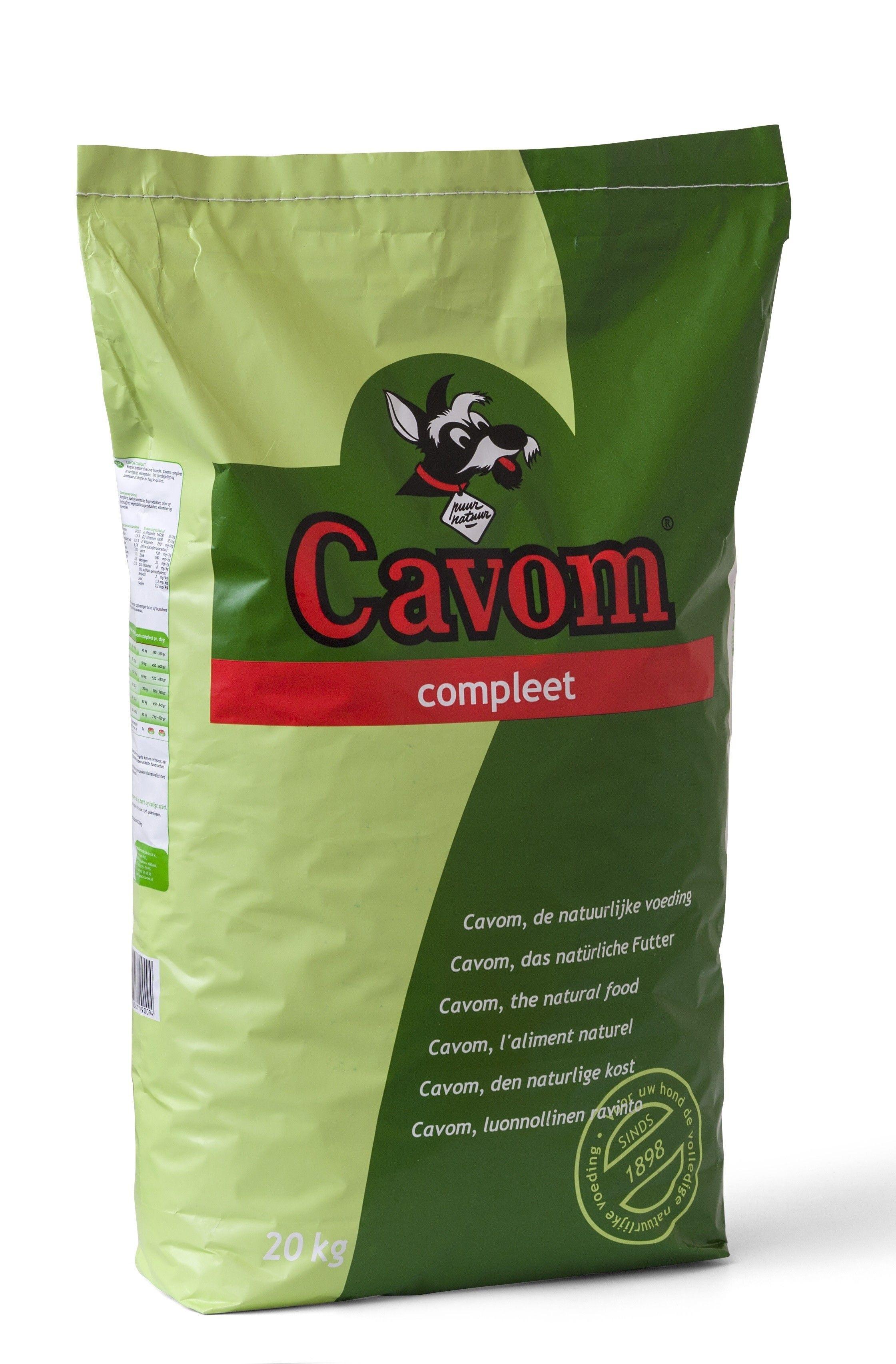 Cavom Compleet hondenvoer Adult 20kg