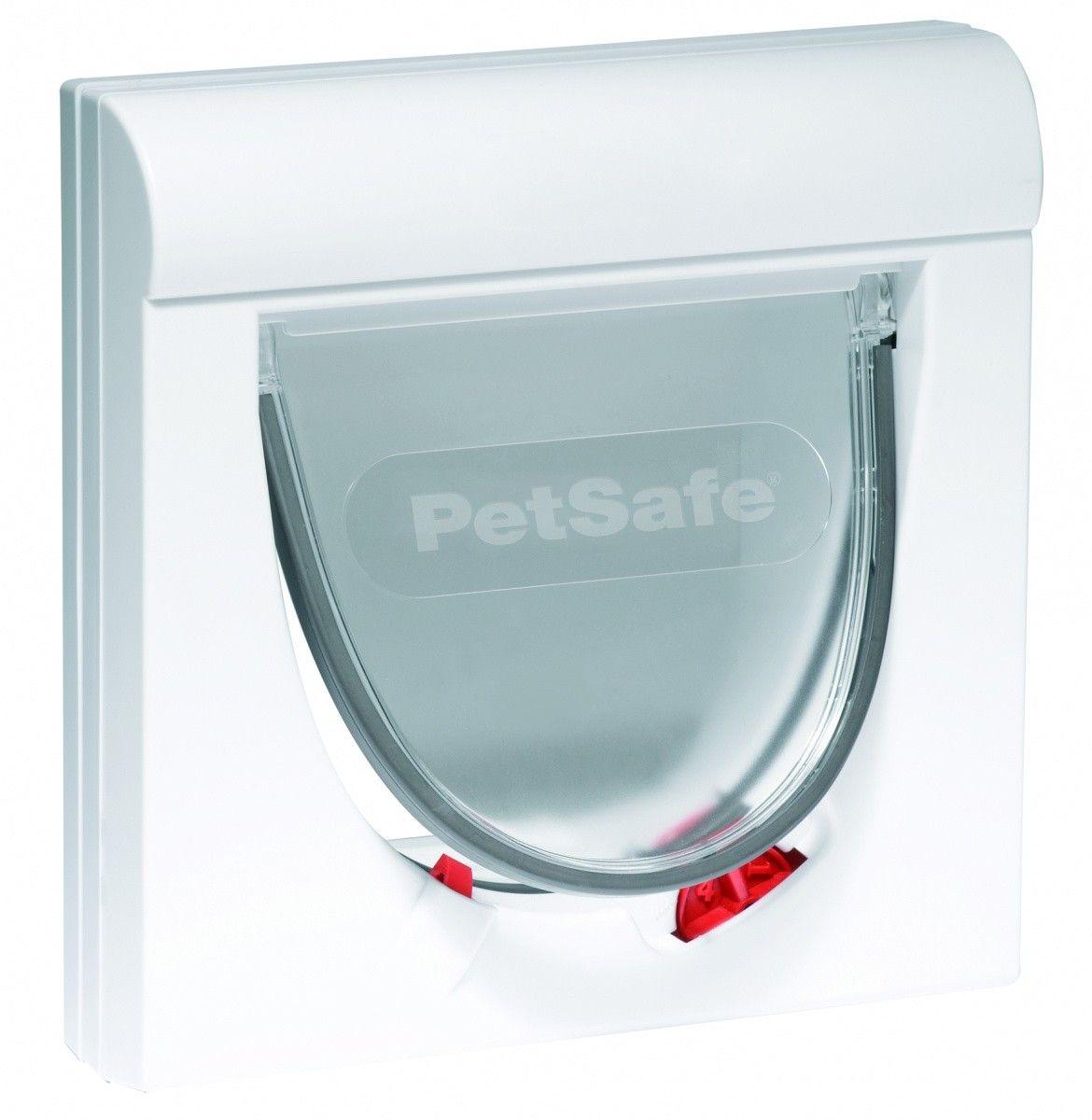 Kattenluik Petsafe 932 wit met magnetische 4-standen vergrendeling