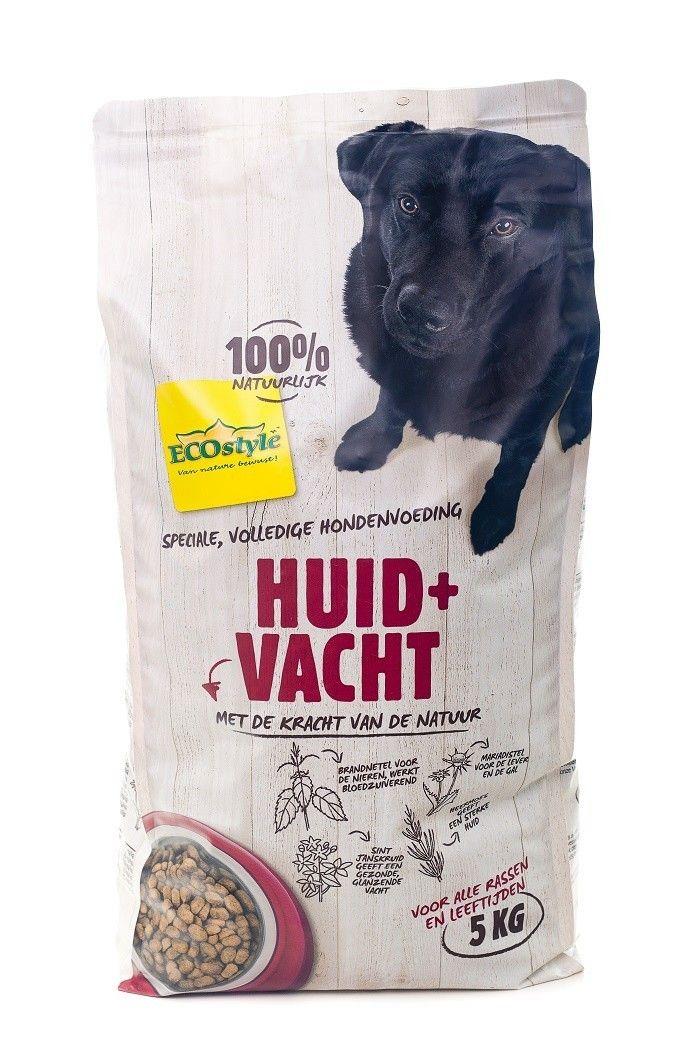 Ecostyle hondenvoer Huid en Vacht 5kg