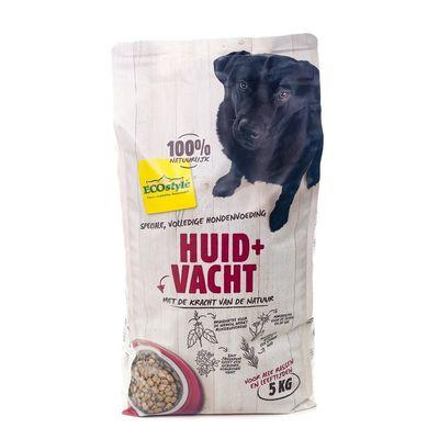 Foto van Ecostyle hondenvoer Huid en Vacht 5kg