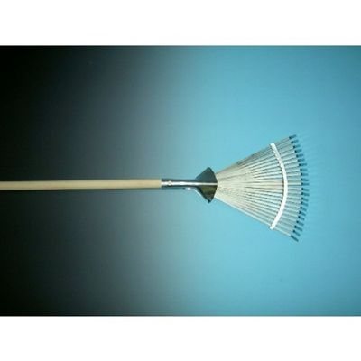 Foto van Bladhark metaal, verstelbaar 22 tands, met 150cm steel