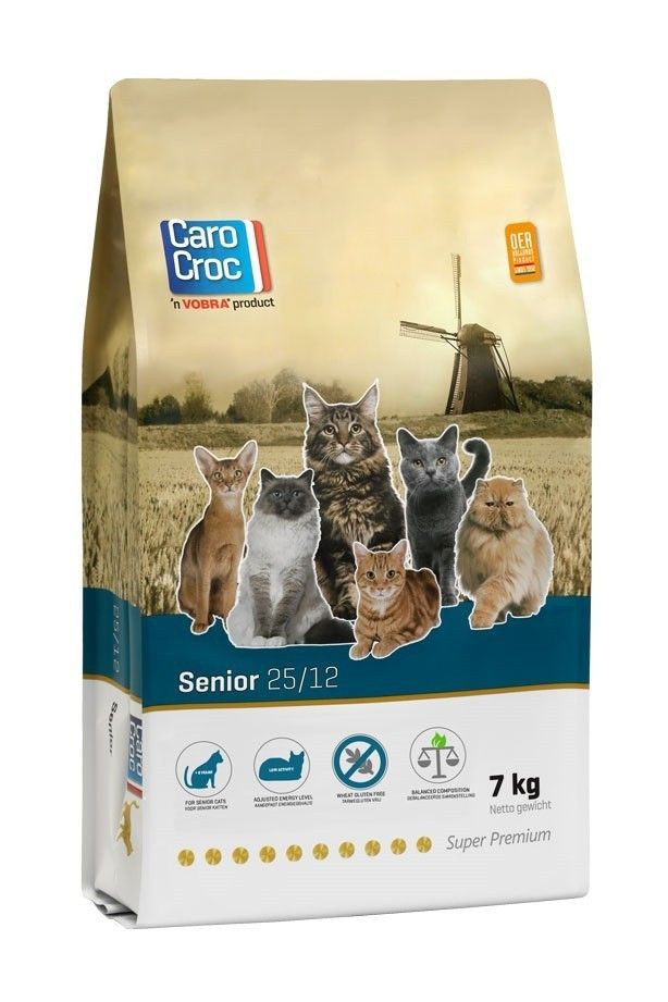 Carocroc kattenvoer Senior 7kg