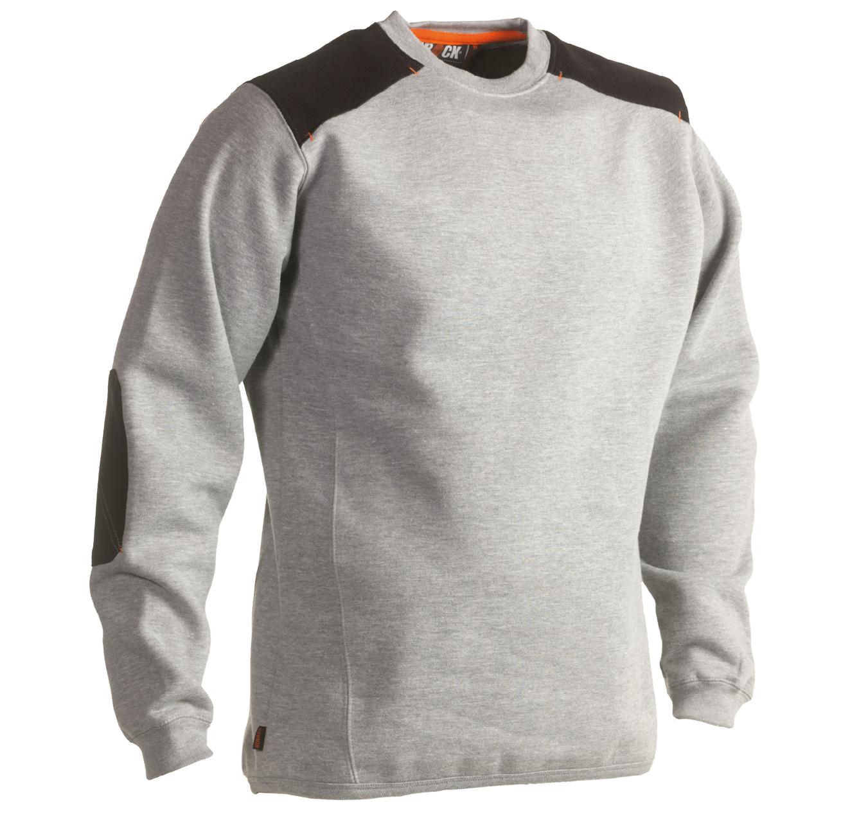 Herock Artemis sweater werktrui grijs