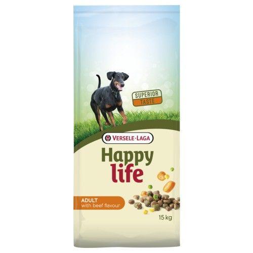 Happy Life hondenvoer Adult Beef 15kg