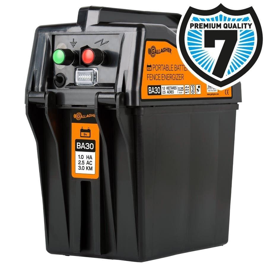 Gallagher BA30 batterij schrikdraadapparaat