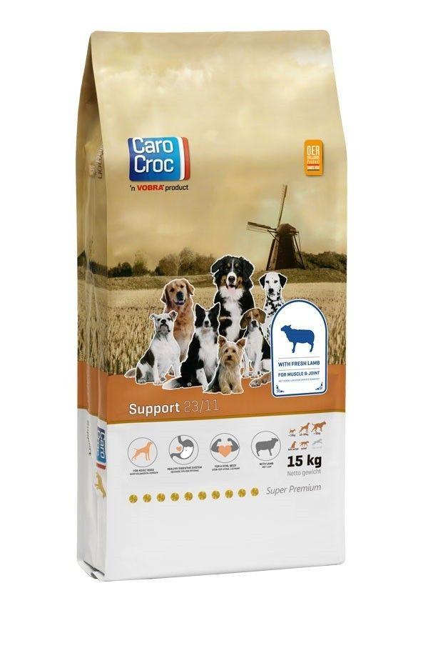 Carocroc Support (Lam/Rijst) hondenvoer 15kg