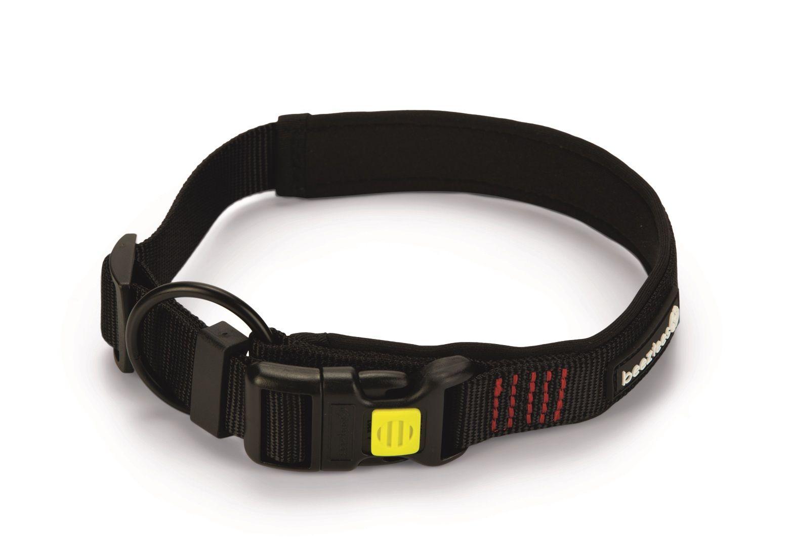 Hondenhalsband Beeztees Parinca Premium nylon zwart