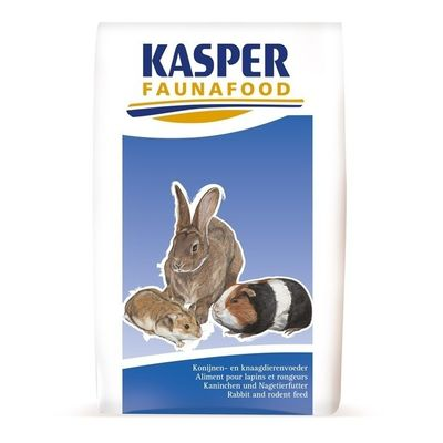 Gemengd konijnenvoer Kasper Faunafood 20kg