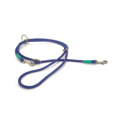Foto van Beeztees Nikra hondendressuurlijn nylon rond blauw 200cmx10mm