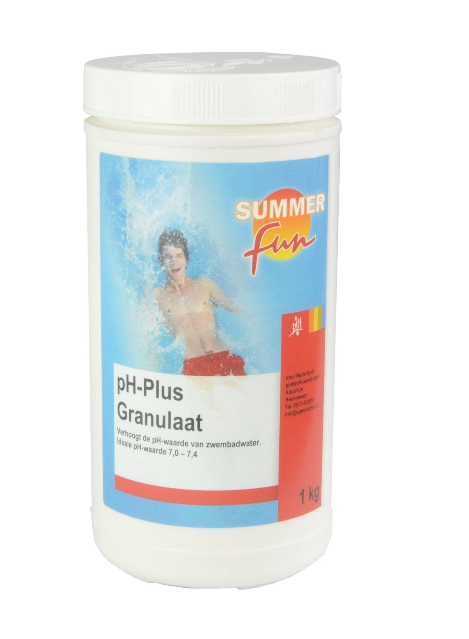 Summer Fun pH + voor zwembad 1kg