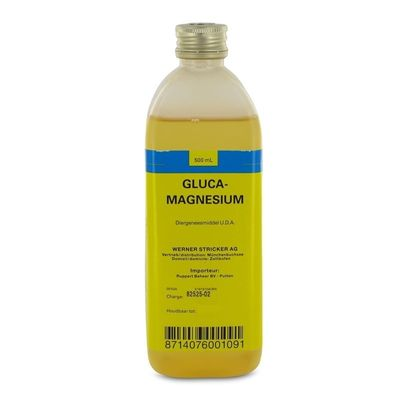 Glucamagnesium melkziekte infuus 500ml