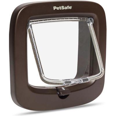 Kattenluik Petsafe bruin PPA19-16731 4-standen vergrendeling