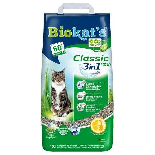 Biokat Fresh 3 in 1 kattenbakvulling 18ltr
