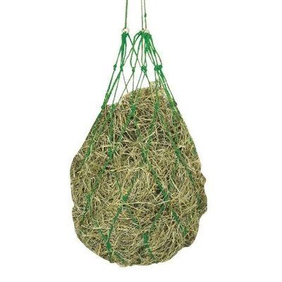 Foto van Hooinet groen met ophangringen