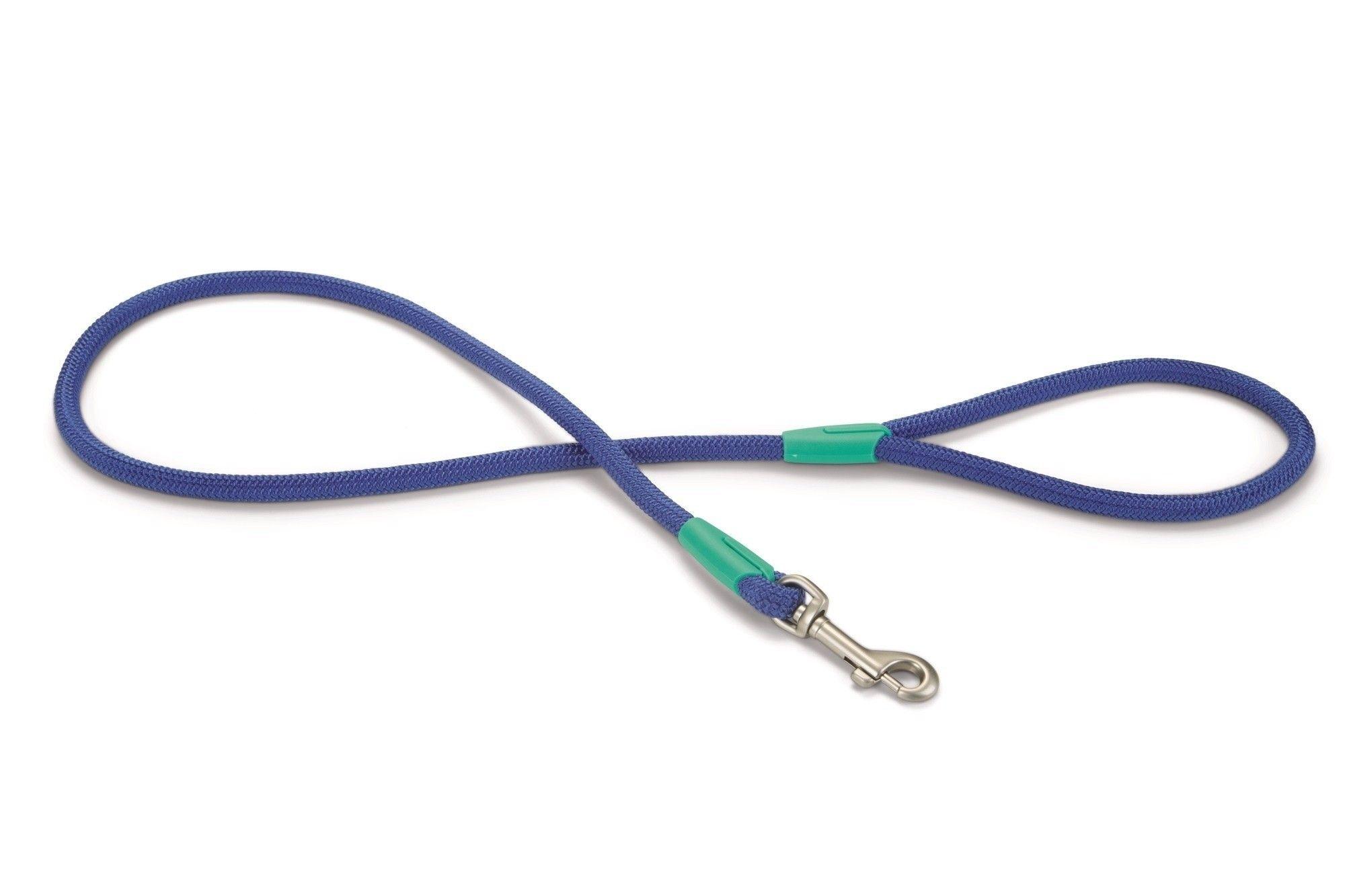Beeztees hondenriem / looplijn Nikra nylon blauw