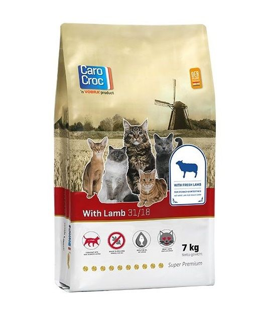 Carocroc kattenvoer Lam 7kg