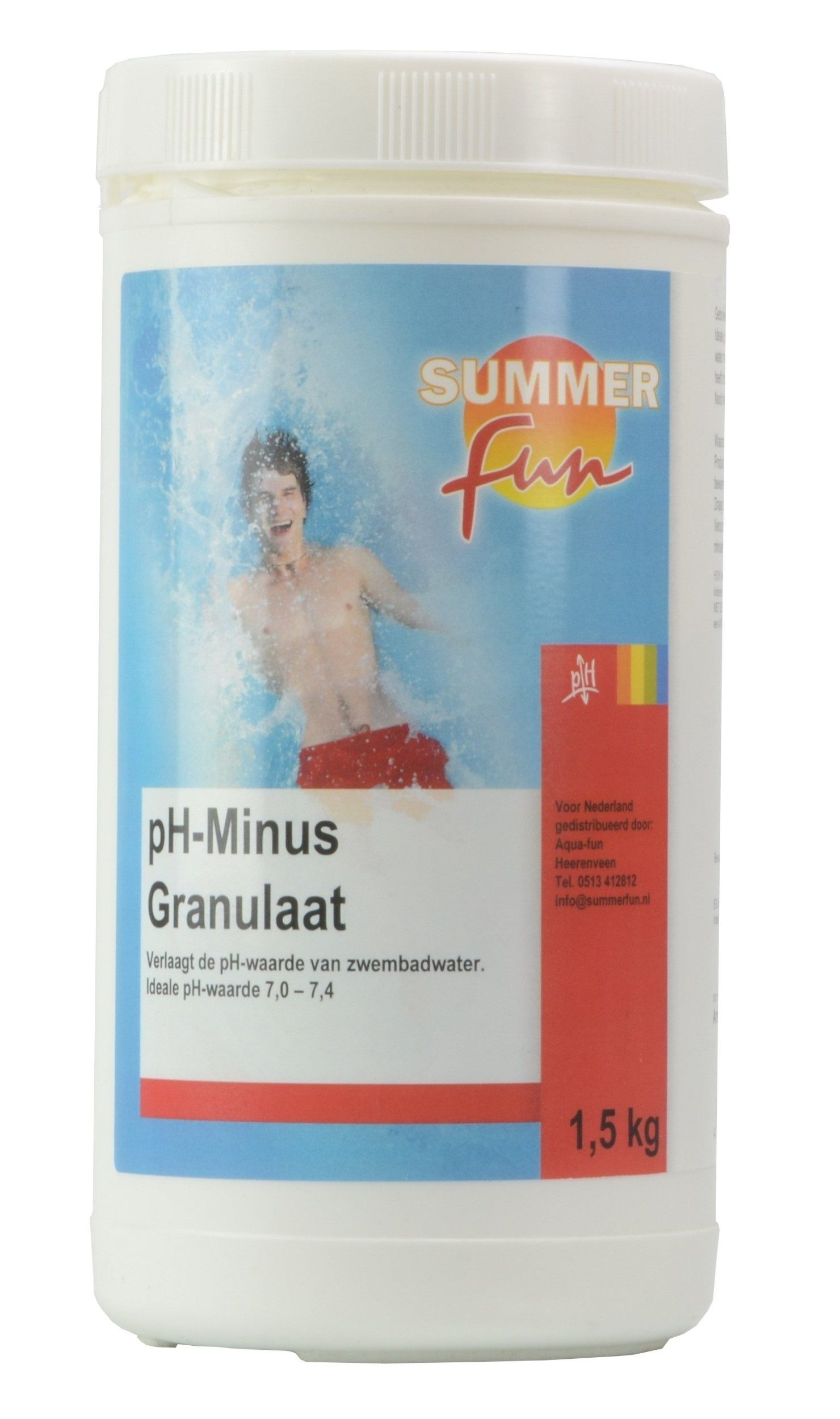 Summer Fun pH - voor zwembad 1.5kg