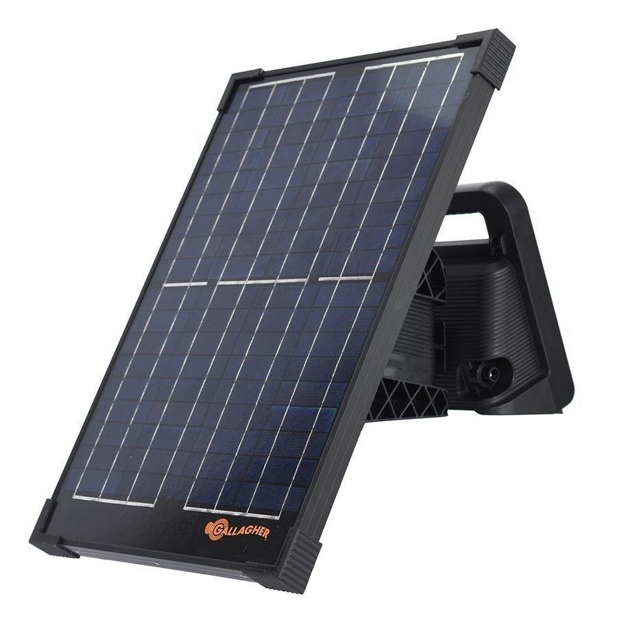 Gallagher Solar kit+bracket 20Watt voor MBS schrikdraadapparaat