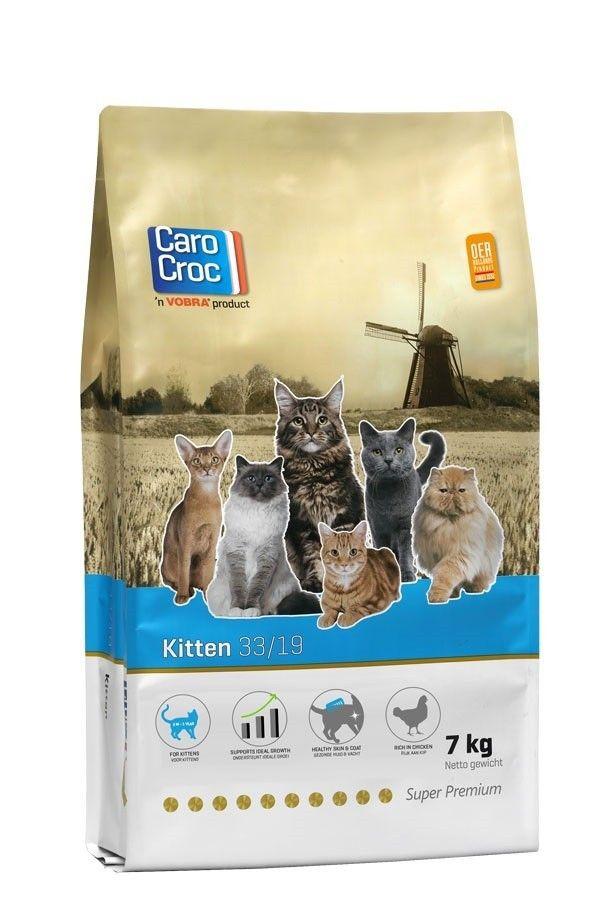Carocroc Kitten kattenvoer 7kg