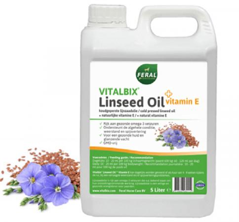 Vitalbix Linseed Oil + Vitamin E 1ltr