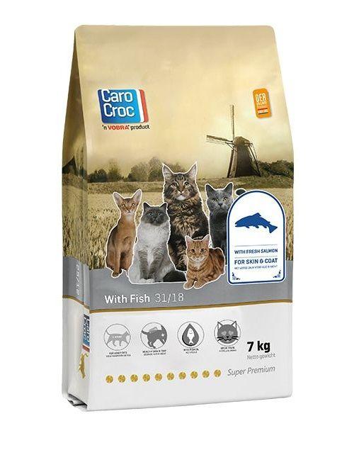 Carocroc kattenvoer Vis 7 kg