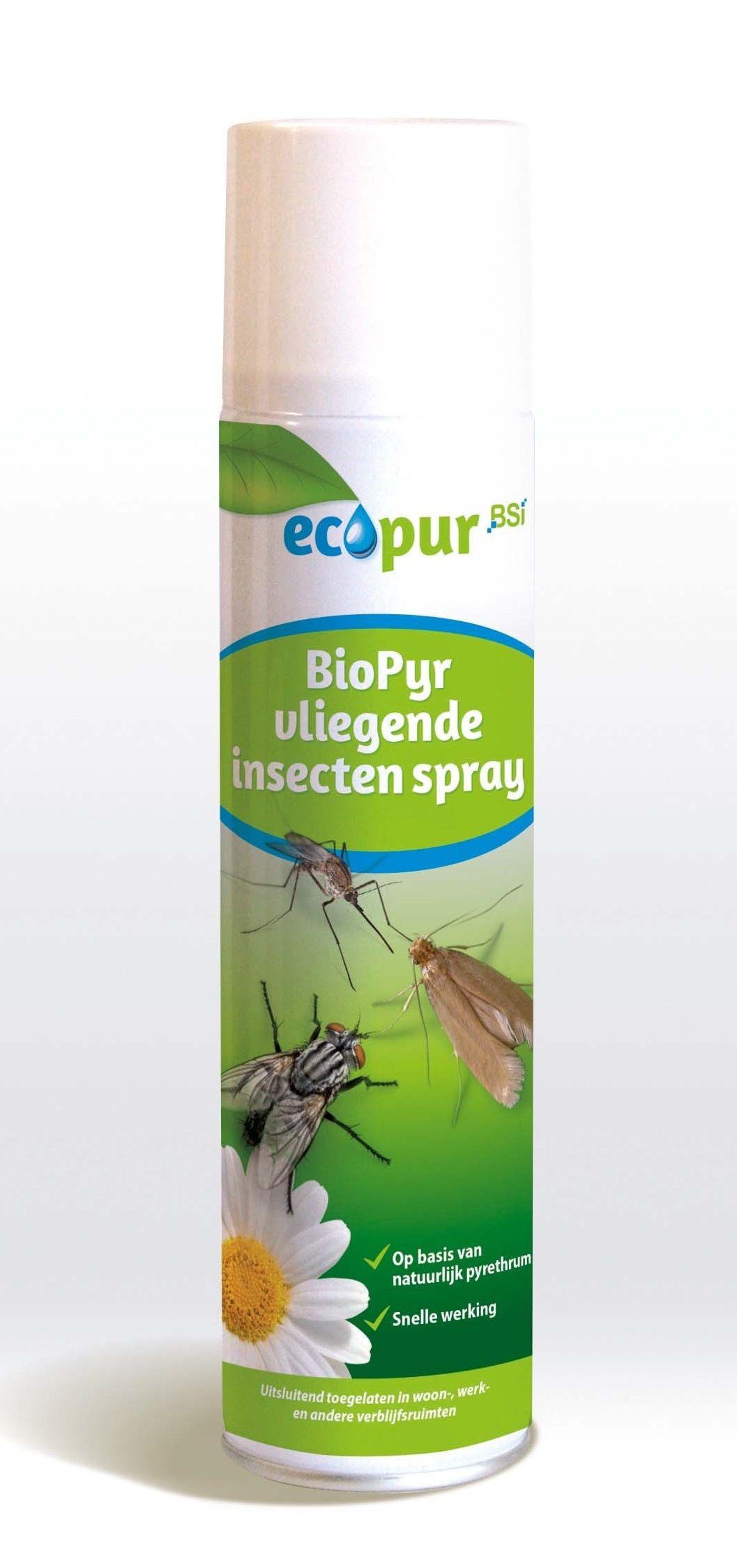 Ecopur Biopyr Vliegen & muggenspray 400ml