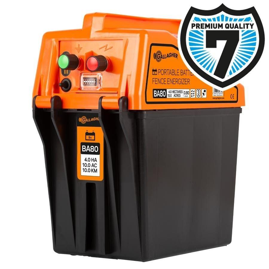 Gallagher BA80 batterij schrikdraadapparaat