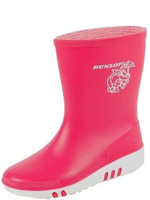 Kinderlaars Dunlop mini PVC roze