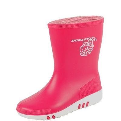 Foto van Kinderlaars Dunlop mini PVC roze