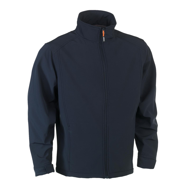 Herock Julius Softshell jas marineblauw