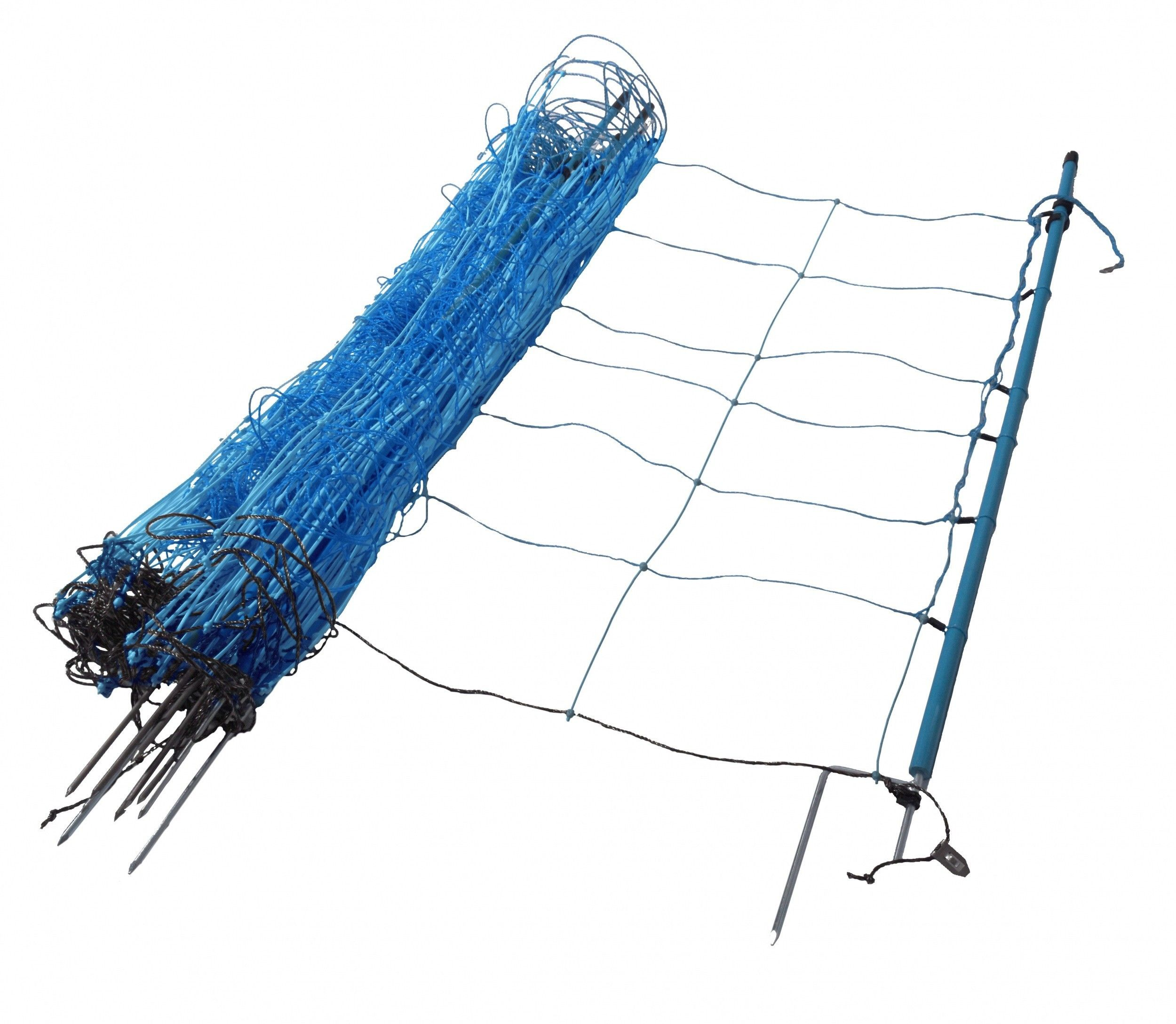 Wolvennet Gallagher blauw 120cm hoog x 50mtr